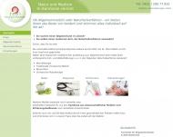Website Melloh Peter Dr. med. Arzt für Allgemeinmedizin Naturheilverfahren Akupunktur