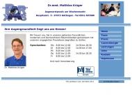 Bild Krüger Matthias Dr. Augenarzt