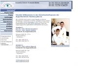 Website Augenärzte Berne Augenheilkunde