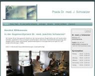 Bild Webseite Schwarzer Joachim Dr.med. Augenarzt Hamburg
