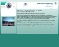Bild Webseite Brünnert Antje Augenheilkunde Hamburg