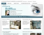 Bild Webseite Wesselmann Anke Dr. Augenärztin Hamburg