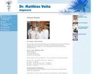 Bild Webseite Voita Matthias Dr. Augenarzt Blomberg