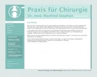 Bild Stephan Manfred Dr.med. Chirurg