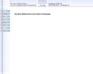 Bild Webseite Alberti Wolfram Dr.med. München