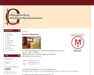 Website MANTEN Josef Dr.med.