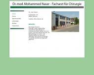 Bild Naser Mohammed Dr.med. D.-Arzt