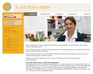 Bild Webseite Gholami Mandana Dr. Fachärztin f. Frauenheilkunde u. Geburtshilfe Köln