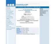 Bild Webseite Haag Joachim Dr.med. Karlsruhe