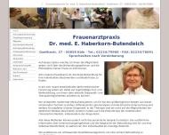 Bild Haberkorn-Butendeich E. Dr. Frauenärztin Akupunktur