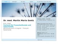 Bild Webseite Götz Martin Dr. Facharzt für Frauenheilkunde und Geburtshilfe Aachen