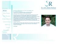 Website Reckert Stefan Dr.med. Facharzt für Frauenheilkunde und Geburtshilfe