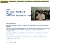 Bild Pupke Reinhard Dr. med. Frauenarzt
