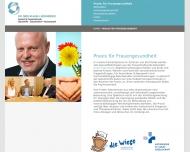 Website Schneider Klaus L. Dr.med. Frauenheilkunde