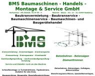 Bild BMS Baumaschinen-Handels-Montage & Service GmbH