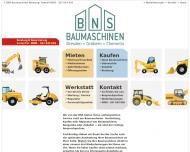Baumaschinen Bauger?te Mieten + Kaufen + Werkstatt von BNS GmbH Dresden