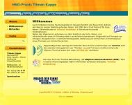 Website Kappe Tilman HNO-Arzt