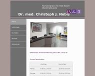 Bild Nobis Christoph Dr.med. Hals- Nasen- Ohrenarzt