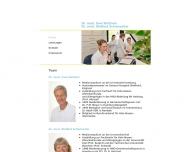 Website Wettwer Uwe Dr.med. u. Schumacher Dietlind Dr.med. HNO