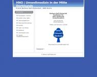 Website Spill-Doleschal Barbara Ärztin für Hals- Nasen- Ohrenheilkunde