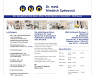 Website Spinnrock Friedrich Dr.med.