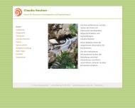 Bild Webseite Reutner Claudia Fachärztin für Allgemeinmedizin Hamburg