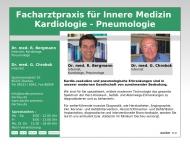 Bild Webseite Bergmann Rolf Dr.med., Chrobok Günther Dr.med. Internisten Dachau
