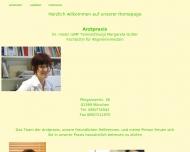 Bild Webseite Gutter Margarete Dr. Praxis München
