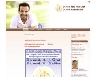 Website Moritz Klaus G. von Dr.med. Arzt für Lungen- und Bronchialheilkunde Allergologie