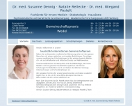 Website Postelt Wiegand Dr. med. Internist