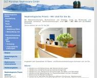 Website Diabetologie im Zentrum