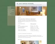 Website Schaudig G. Dr.med. Arzt für Innere Medizin-Naturheilverfahren