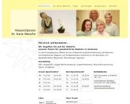 Bild Webseite Menche Karin Dr. Allgemeinmedizin Hamburg