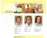 Website Menche Karin Dr. Allgemeinmedizin