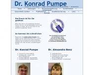 Dr. Konrad Pumpe - Facharzt f?r Innere Medizin, Lungen- und Bronchialheilkunde, Sportmedizin, Notfal...