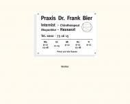 Bild Bier Frank Dr. Praxis für Innere Medizin