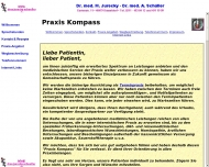 Website Schüller Arnold Dr. med. Internist Homöopathie