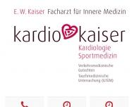 Kardio Kaiser D?sseldorf Arzt f?r Innere Medizin Kardiologie Engelhard Kaiser