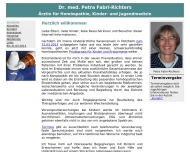 Bild Privatpraxis Dr.med. Petra Fabri-Richters