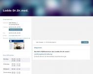 Bild Webseite  Northeim