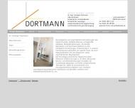 Website Dortmann Christoph Dr.