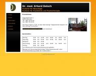 Website Deloch Erhard Dr.med. Arzt für Neurologie und Psychiatrie