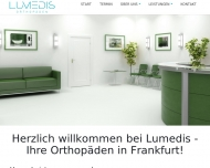 Website Lumedis - Orthopäden