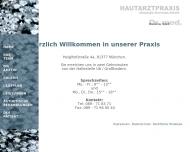 Bild Webseite Hautarztpraxis Dr.med. Andreas Lukacs Dr.med. Rosita Süß München