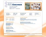 Bild Kirchner Axel Dr.med. Facharzt für Allgemeinmedizin
