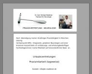 Website Madlener Dr. med. Neurologie und Psychotherapie
