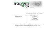 Bild Augenoptik Stock