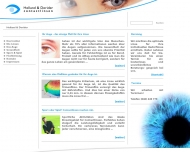 Bild Webseite Holland & Dorider Contactlinsen Hamburg