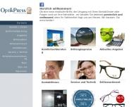 Bild Peter Preß Augenoptik Contactlinsen Centrum