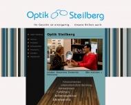 Bild Webseite Optik Steilberg, Inhaber: Alexandros Simeonidis Köln